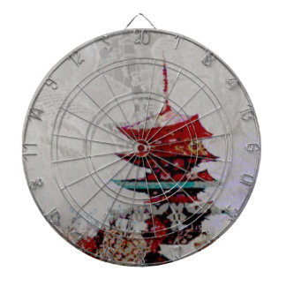Japan Pagoda Lace Series Dartboard