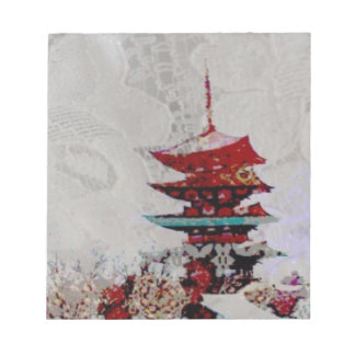 Japan Pagoda Lace Series Notepads