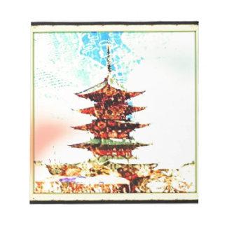 Japan Pagoda Temple Series Notepads