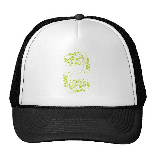 Japan plant sample floral pattern hats