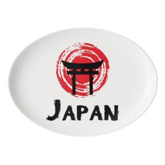 Japan Porcelain Serving Platter