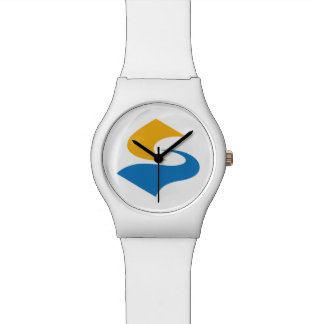 Japan Prefecture Flag. Wrist Watch