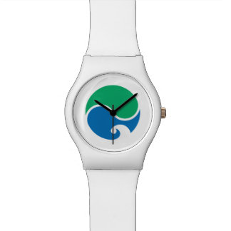 Japan Prefecture Flag. Wristwatches