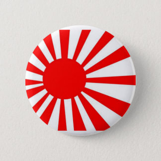 Japan Rising Sun Flag 2 Inch Round Button