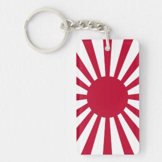 Japan Rising Sun Flag Keychain