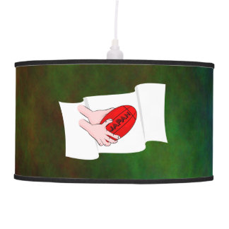 Japan Rugby Team Supporters Flag With Ball Pendant Lamps