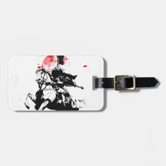 Japan Samurai Bag Tag