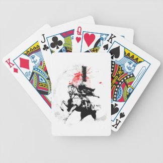 Japan Samurai Bicycle Playing Cards