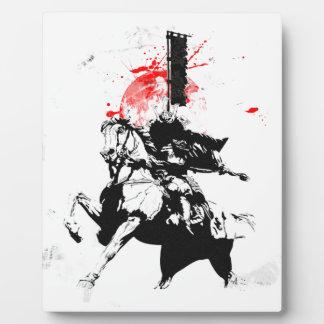 Japan Samurai Plaque