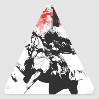Japan Samurai Triangle Sticker