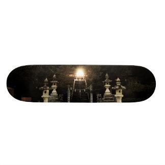 japan shrine skateboard deck