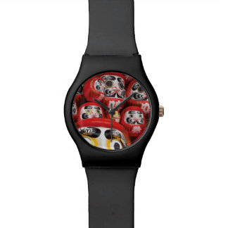 Japan Slice of Life. Daruma Dolls. Wristwatches