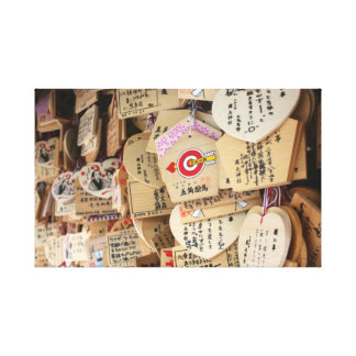 Japan Slice of Life. Temple Dedication Messages. Canvas Print