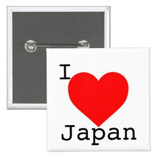 Japan Tsunami Support 2 Inch Square Button