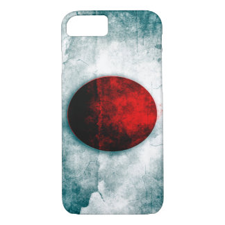 Japan Urban Grunge Flag iPhone 7 Case