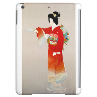 Japan Vintage Travel Poster Restored iPad Air Cases