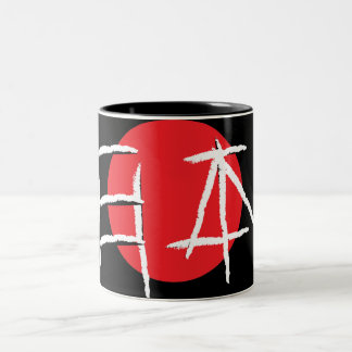 Japan Word in Japanese Font Two-Tone Coffee Mug