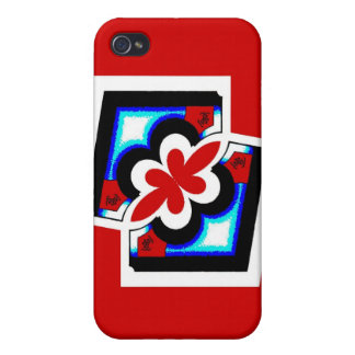 Japanese Abstract iPhone 4/4S Covers