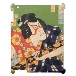 Japanese actor (#1) (Vintage Japanese print) iPad Covers