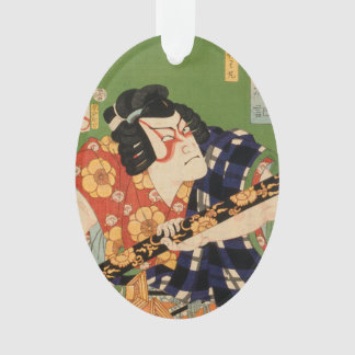 Japanese actor (#1) (Vintage Japanese print) Ornament