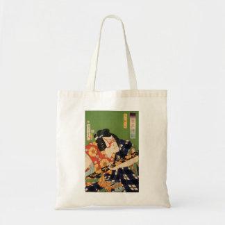 Japanese actor (#1) (Vintage Japanese print) Tote Bag