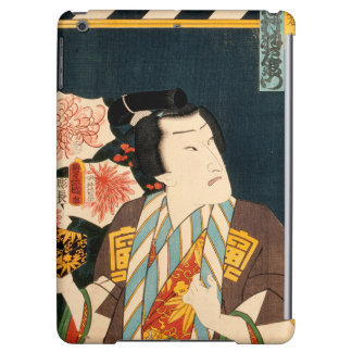 Japanese actor (#3) (Vintage Japanese print) iPad Air Cover