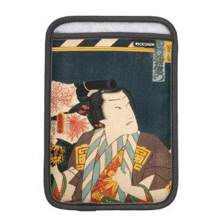 Japanese actor (#3) (Vintage Japanese print) iPad Mini Sleeve