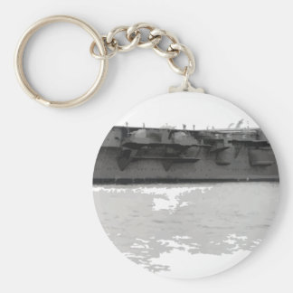 Japanese_aircraft_carrier_Hiryu_1939_cropped Keychain