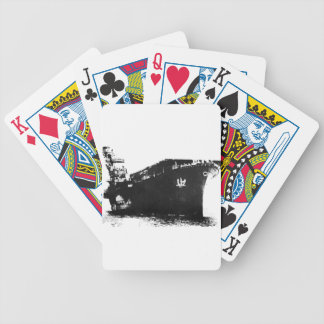 Japanese_aircraft_carrier_Hiyo Bicycle Playing Cards
