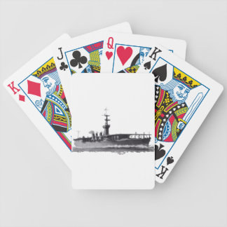Japanese_aircraft_carrier_Hosho_1922 Bicycle Playing Cards