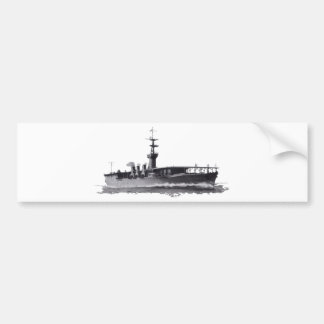 Japanese_aircraft_carrier_Hosho_1922 Bumper Sticker