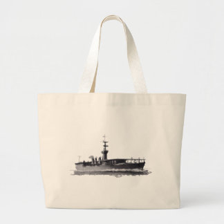 Japanese_aircraft_carrier_Hosho_1922 Large Tote Bag