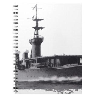 Japanese_aircraft_carrier_Hosho_1922 Notebook