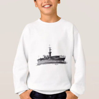 Japanese_aircraft_carrier_Hosho_1922 Sweatshirt