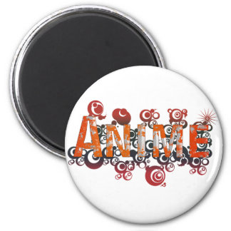 Japanese Anime Style art 2 Inch Round Magnet