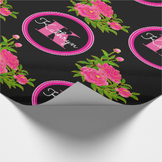 Japanese Art Beautiful Peonies Multi Occasion Wrapping Paper
