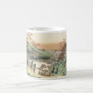 Japanese Art cup Basic White Mug