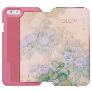 Japanese Art custom monogram wallet cases Incipio Watson™ iPhone 6 Wallet Case