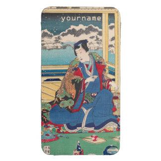 Japanese Art custom phone pouches Galaxy S4 Pouch