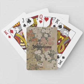 Japanese Art custom playing cards