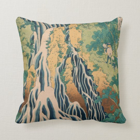 Japanese Art custom throw pillow