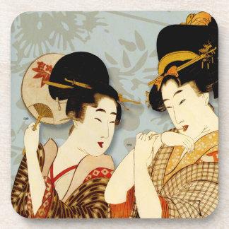 Japanese Art  Design Coasters