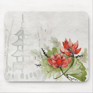 Japanese Art Mouse Pad