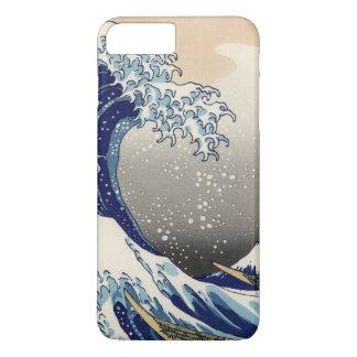 JAPANESE ART. OCEAN WAVES. VINTAGE PAINTING iPhone 8 PLUS/7 PLUS CASE