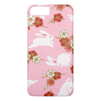 Japanese Art: Pink Sakuras & Rabbits iPhone 7 Plus iPhone 7 Plus Case