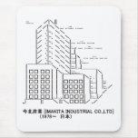 Japanese ASCII Art「今北産業」 マウスパッド