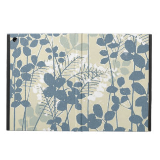 Japanese Asian Art Floral Blue Flowers Print Case For iPad Air