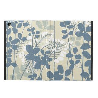 Japanese Asian Art Floral Blue Flowers Print Powis iPad Air 2 Case