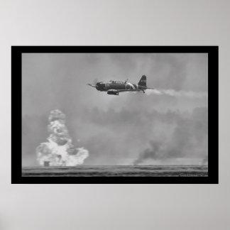 Japanese B5N Kate Torpedo Bomber Poster
