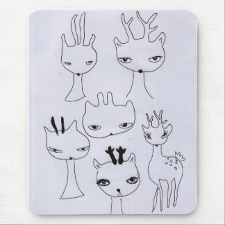 Japanese Bamby by Novelline Mouse Pad